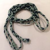 Braided Chiffon Belt